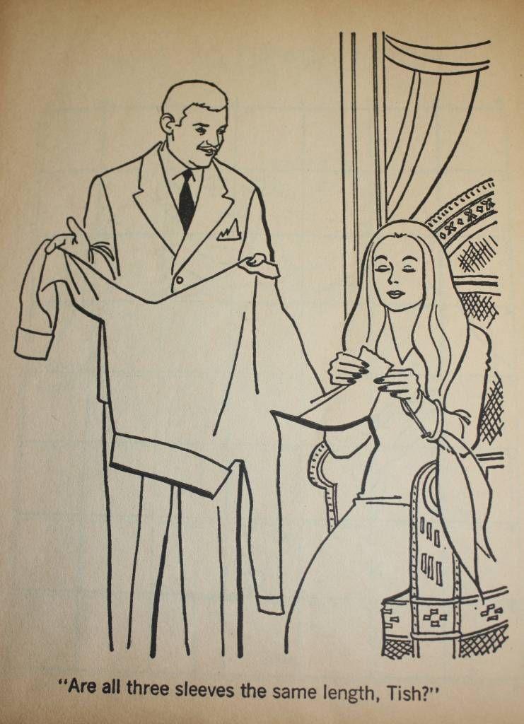 The Addams Family A Coloring Book (1965 You Rang