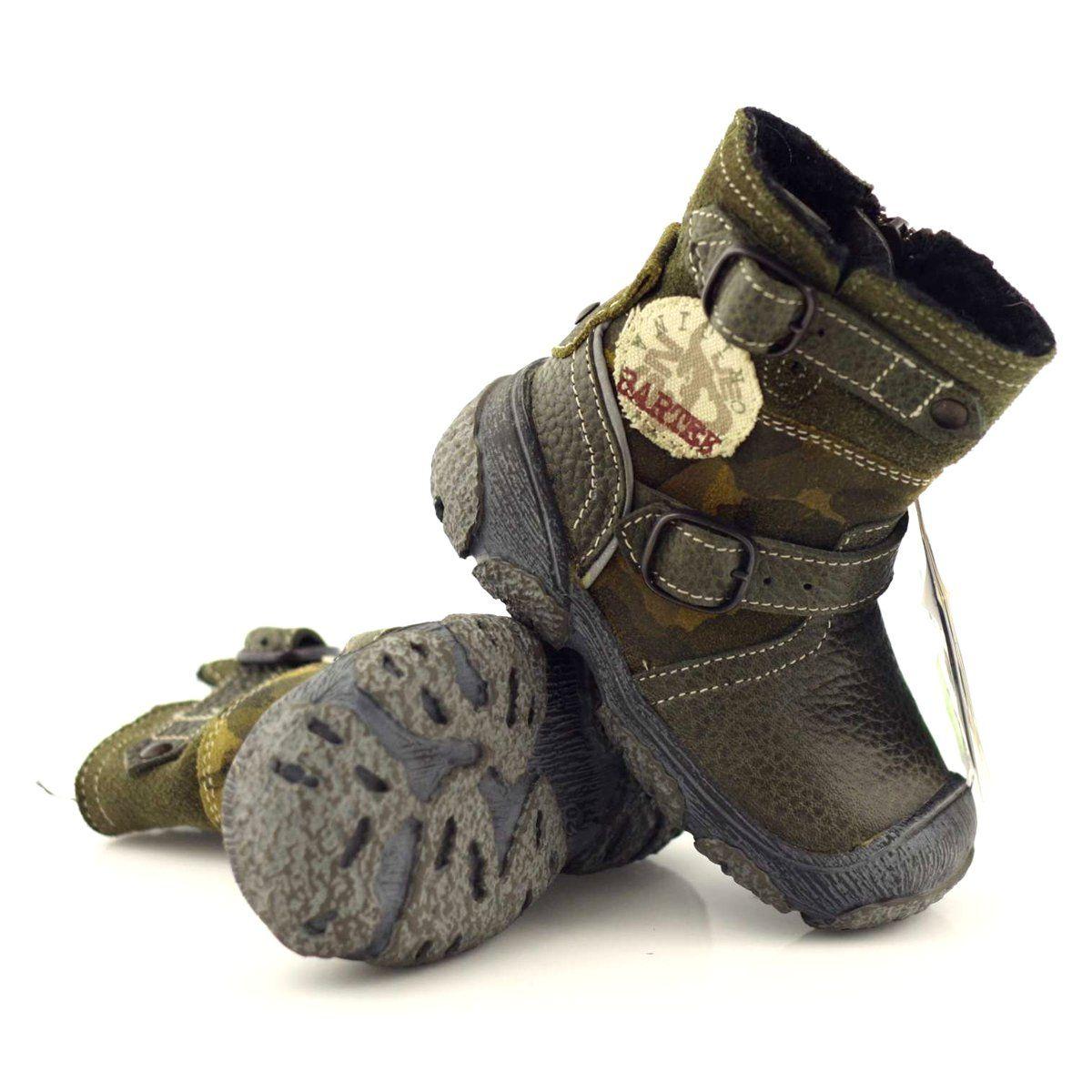 Kozaczki Buty Dzieciece Bartek 91543 Zielone Wielokolorowe Boots Warm Winter Boots Winter Boots