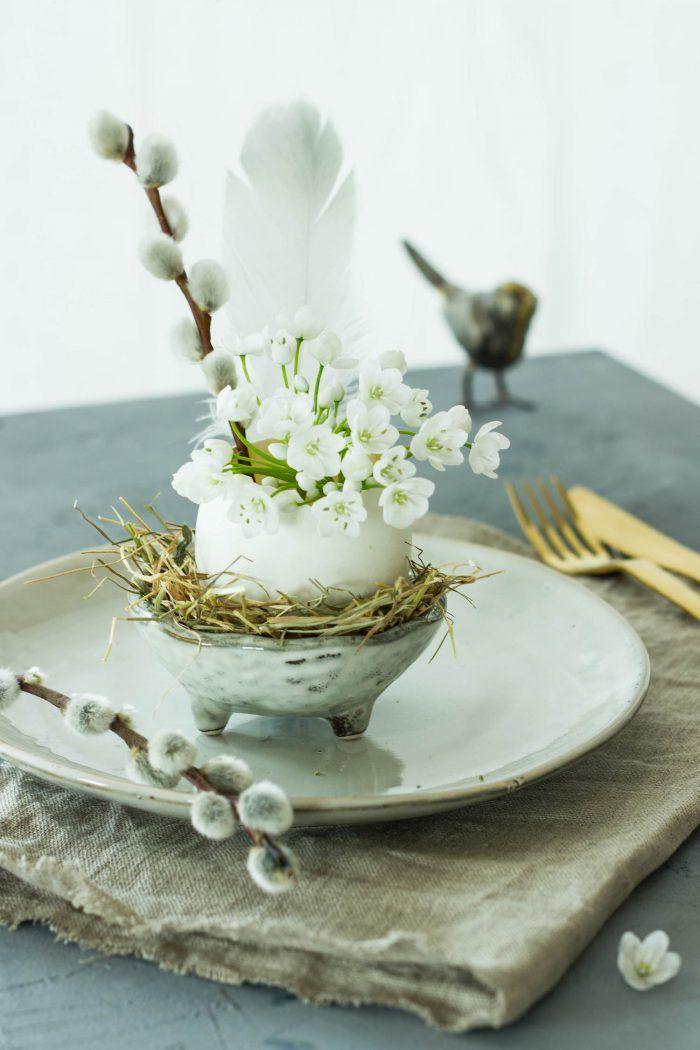 Oster Tischdeko I See Easter Coming Ostern Diy Ostern Und
