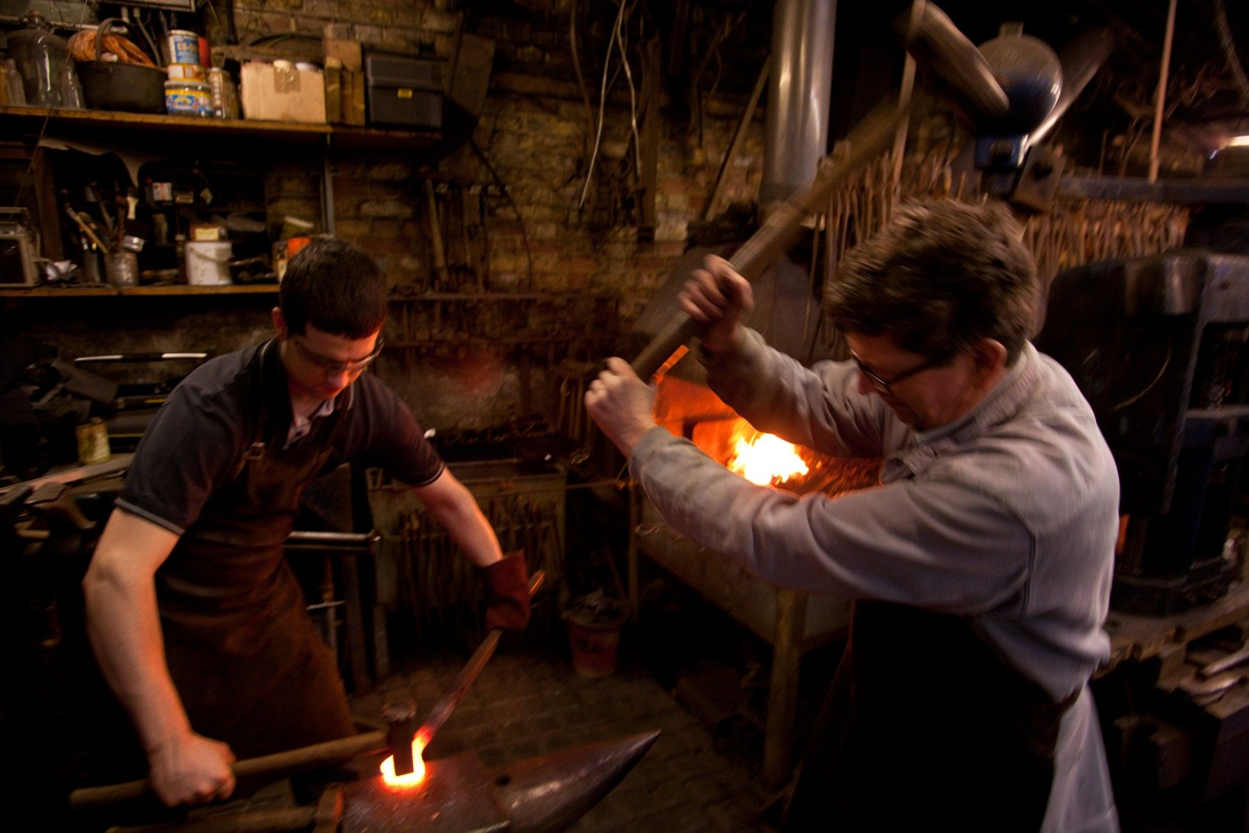 The Alchemy of the Blacksmith Nick Fleming Photographer