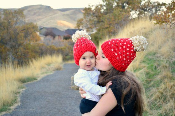 Mommy and Me Beanies - The Overwhelmed Mommy Blogger fcacecd78a4