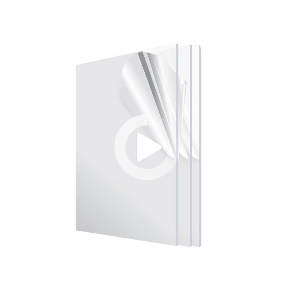 X 24におけるadiroffice 12 X 1 8アクリルシート 3パック 1224 3 Cで In 2020 Long Gel Nails Long Acrylic Nails Long Nails
