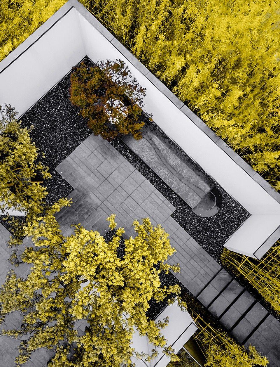 安道设计 浙江万科 桂语东方 hotel landscape landscape architecture design green roof garden