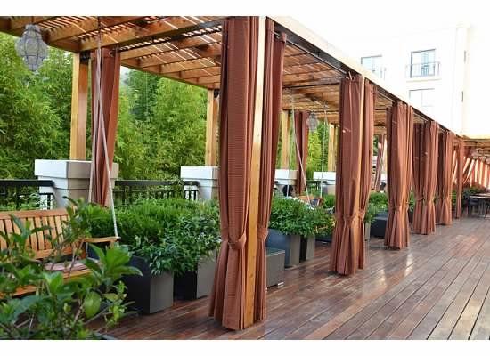 Avia Hotel Terrace Napa Outdoor Structures Terrace Outdoor