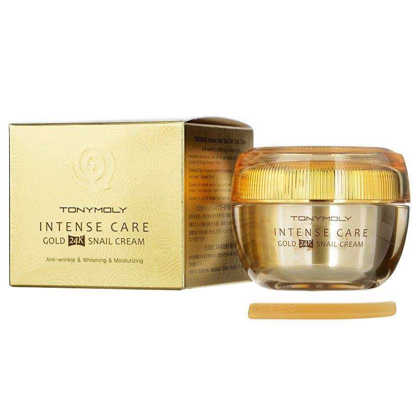 Buy Tonymoly Intense Care Gold 24k Snail Cream 45ml Yesstyle Snail Cream 24k Gold Tony Moly