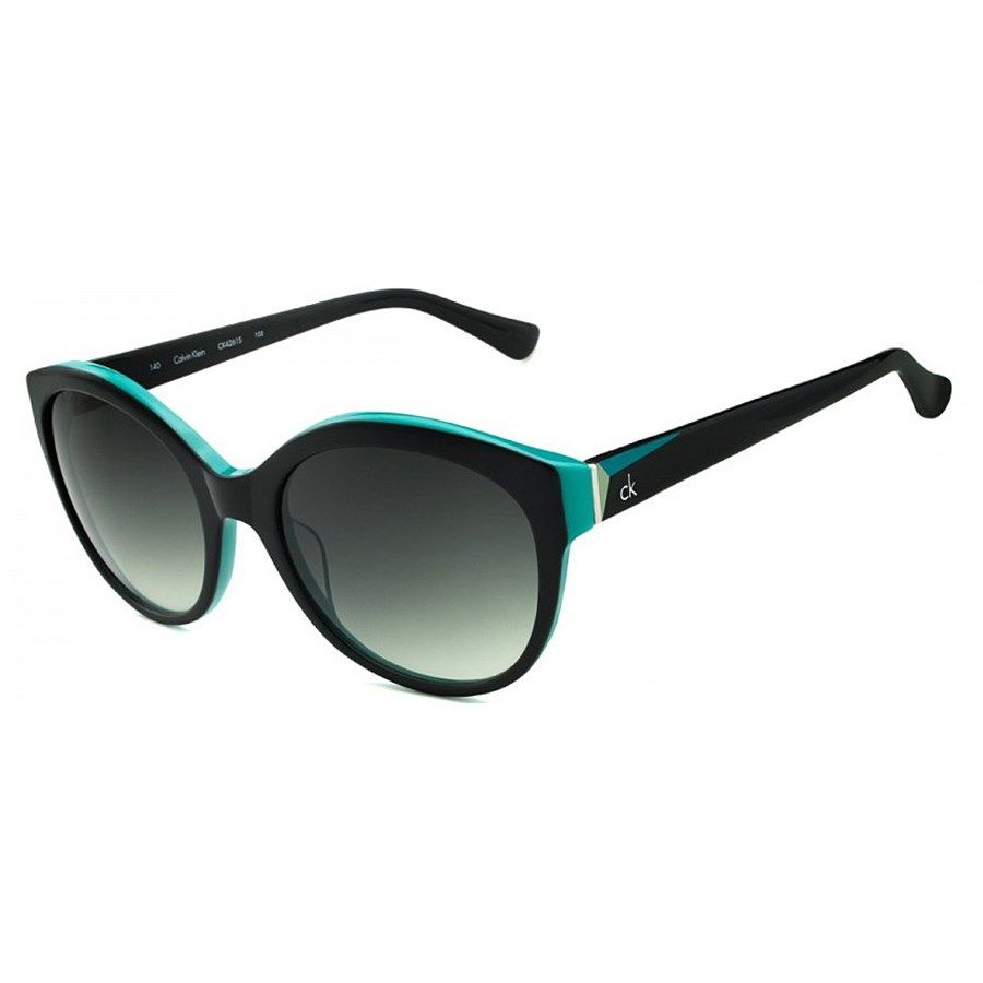 5cc7652432a17 Óculos de Sol Calvin Klein Preto com Aquamarine