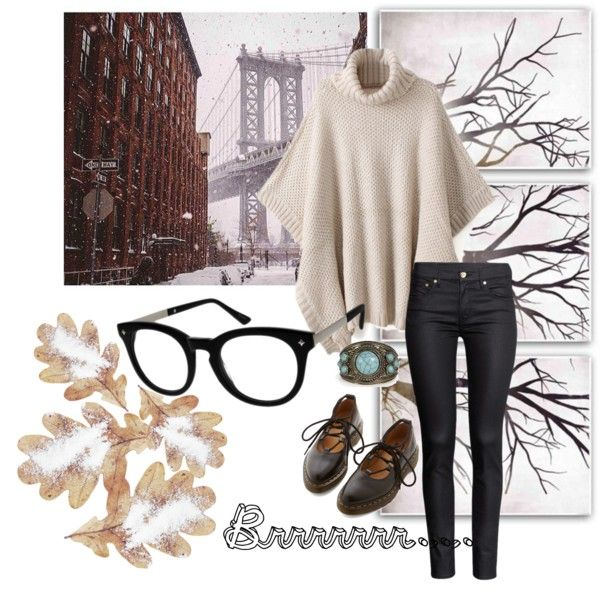 Boho Chic by zennioptical on Polyvore featuring H&M, Dr. Martens, Boohoo and PTM Images