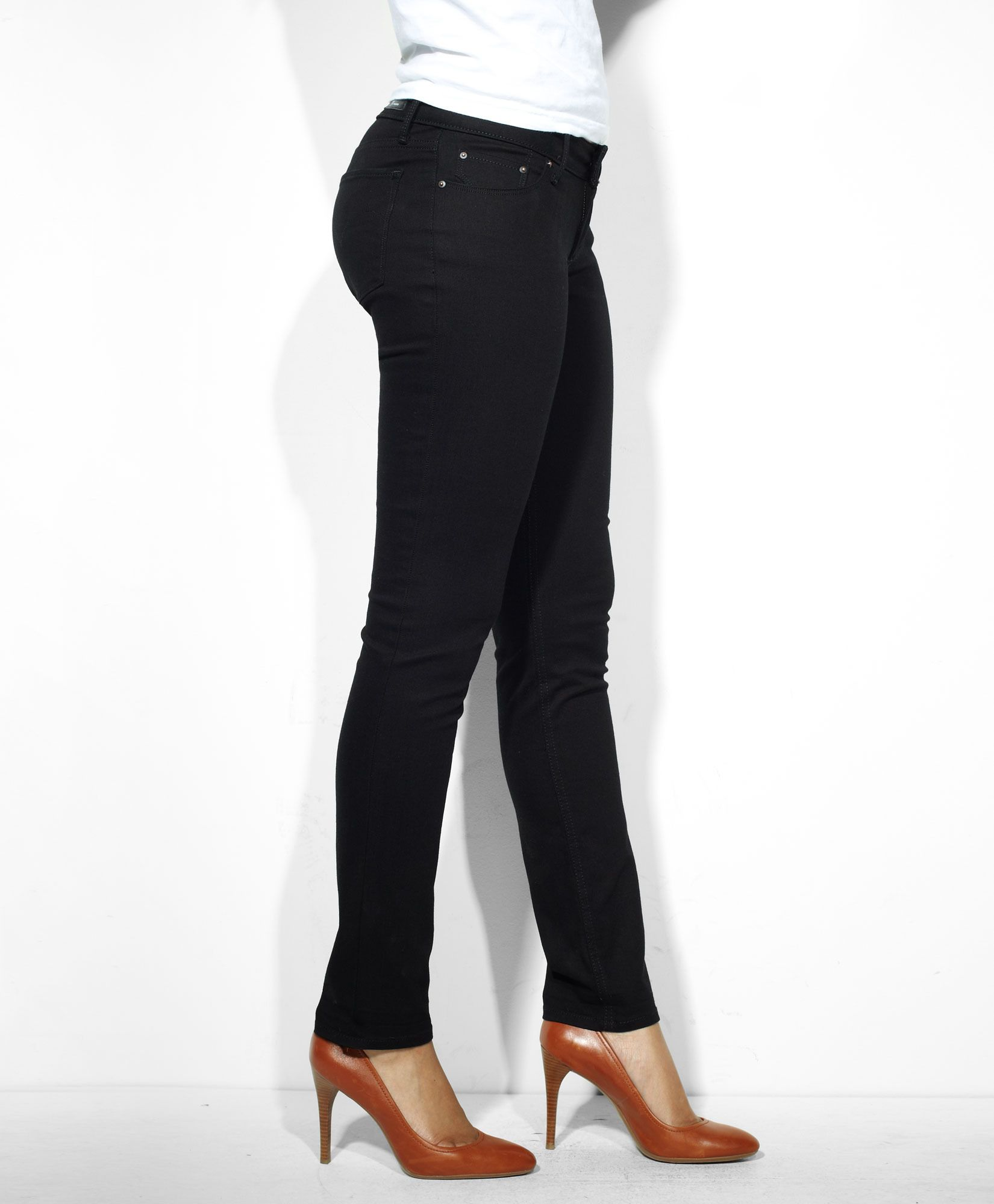 a9622223419 Levi's Modern Rise Supreme Curve Skinny Jeans - Pitch Black - Supreme Curve  Now this is what my ghetto booty needs.