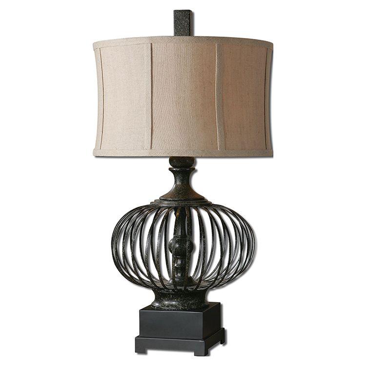 Lipioni Table Lamp By Carolyn Kinder Black Table Lamps Cage Table Lamp Metal Table Lamps