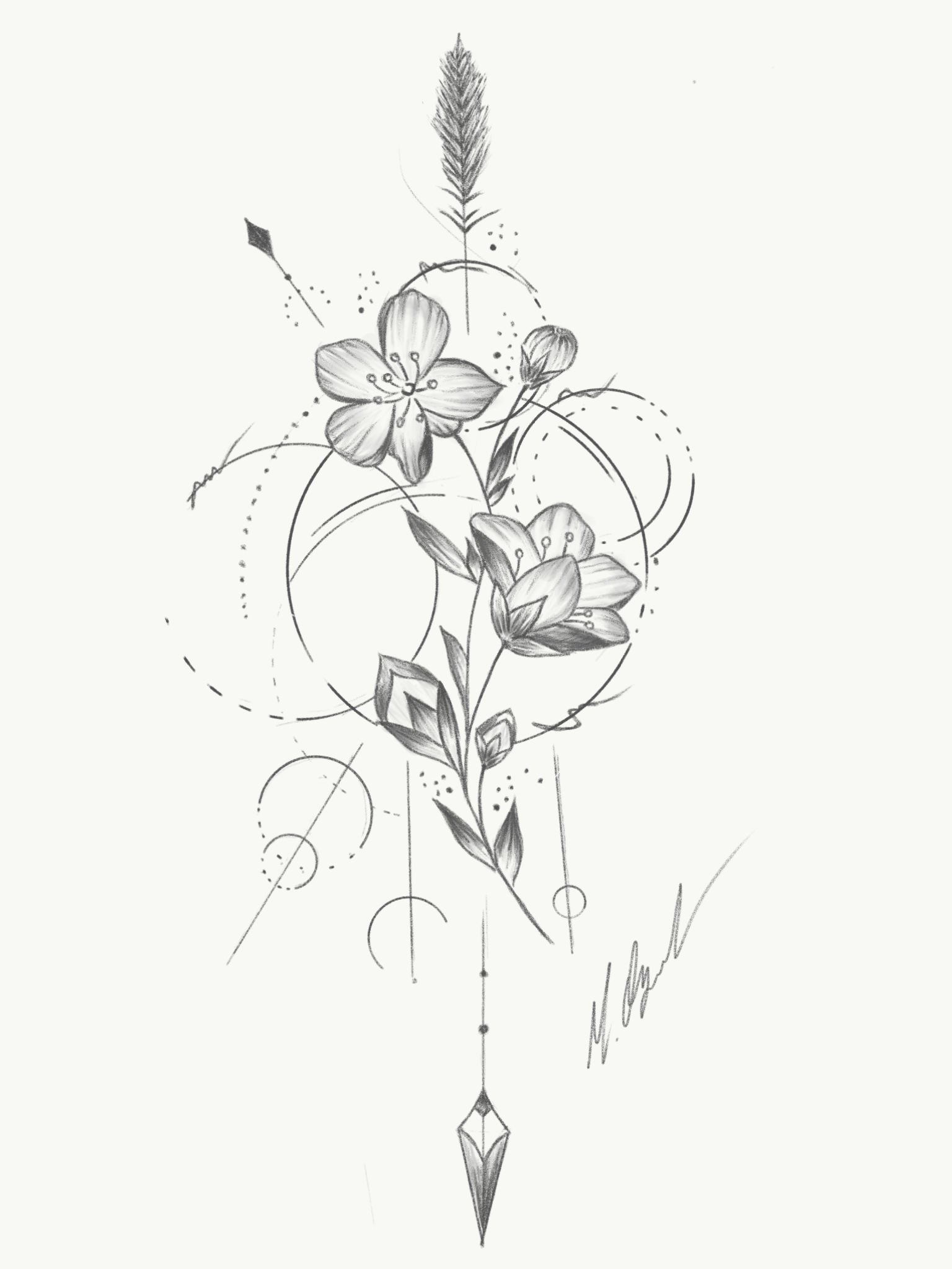 Flower Flowertattoo Flowerstattoo Tattooart Drawing Tattoos Tattoo Drawings Floral Tattoo Design