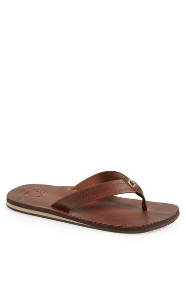 Cushe U0027Freshu0027 Flip Flop (Men) Available At Leather Flip Flop If Dress Code  Allows.