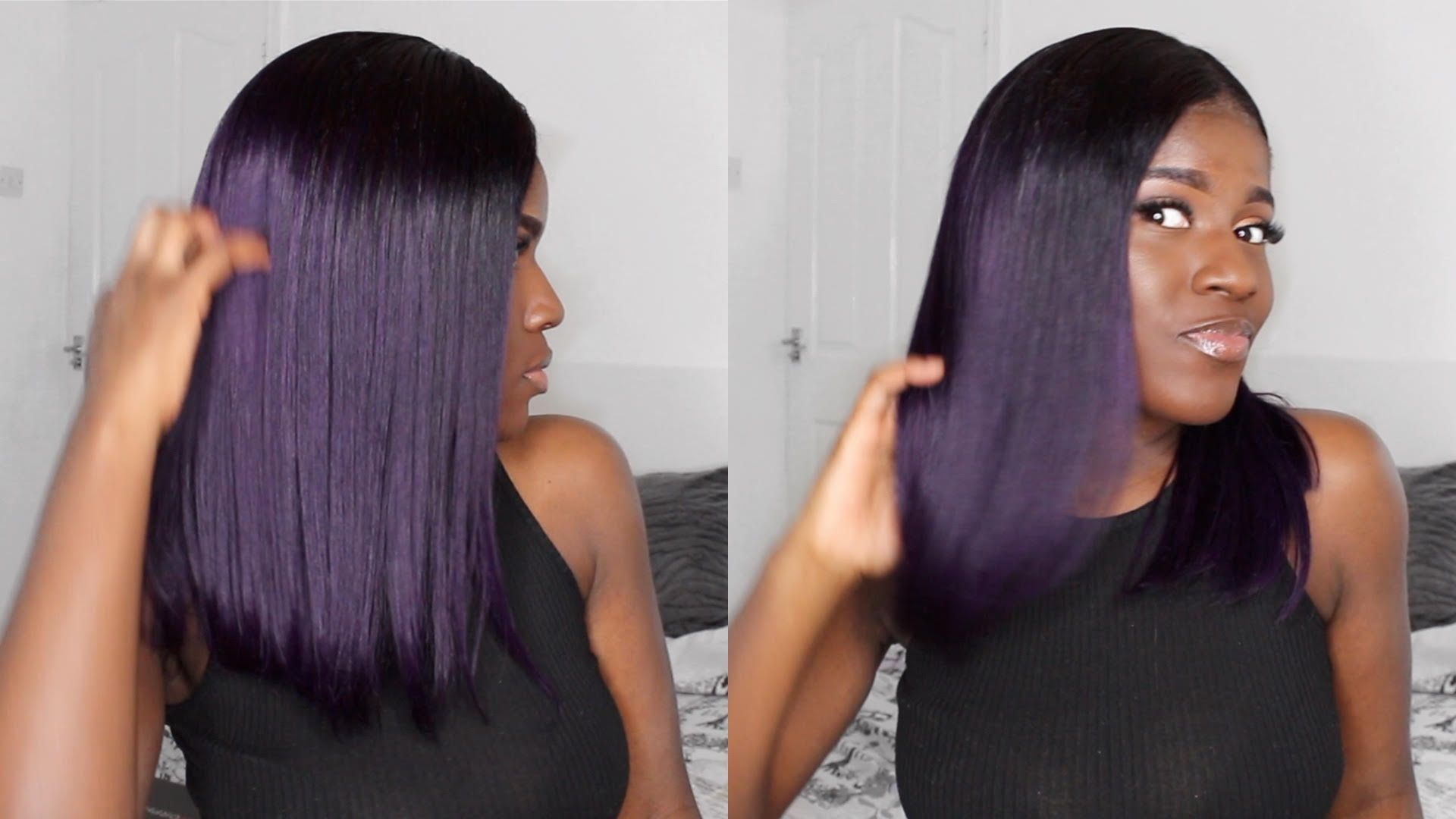 28++ Dark purple weave hair inspirations