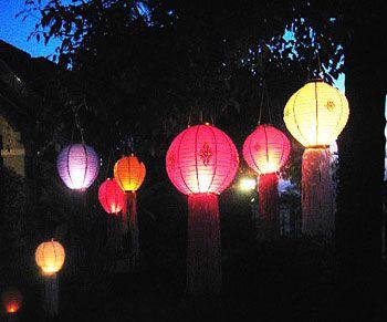 Decorative Paper Garden Lanterns