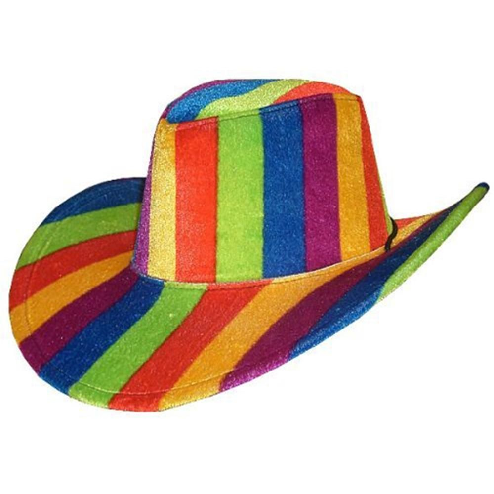 dc32a606b Rainbow Cowboy Hat | Trendy halloween, Cowboys and Rainbows
