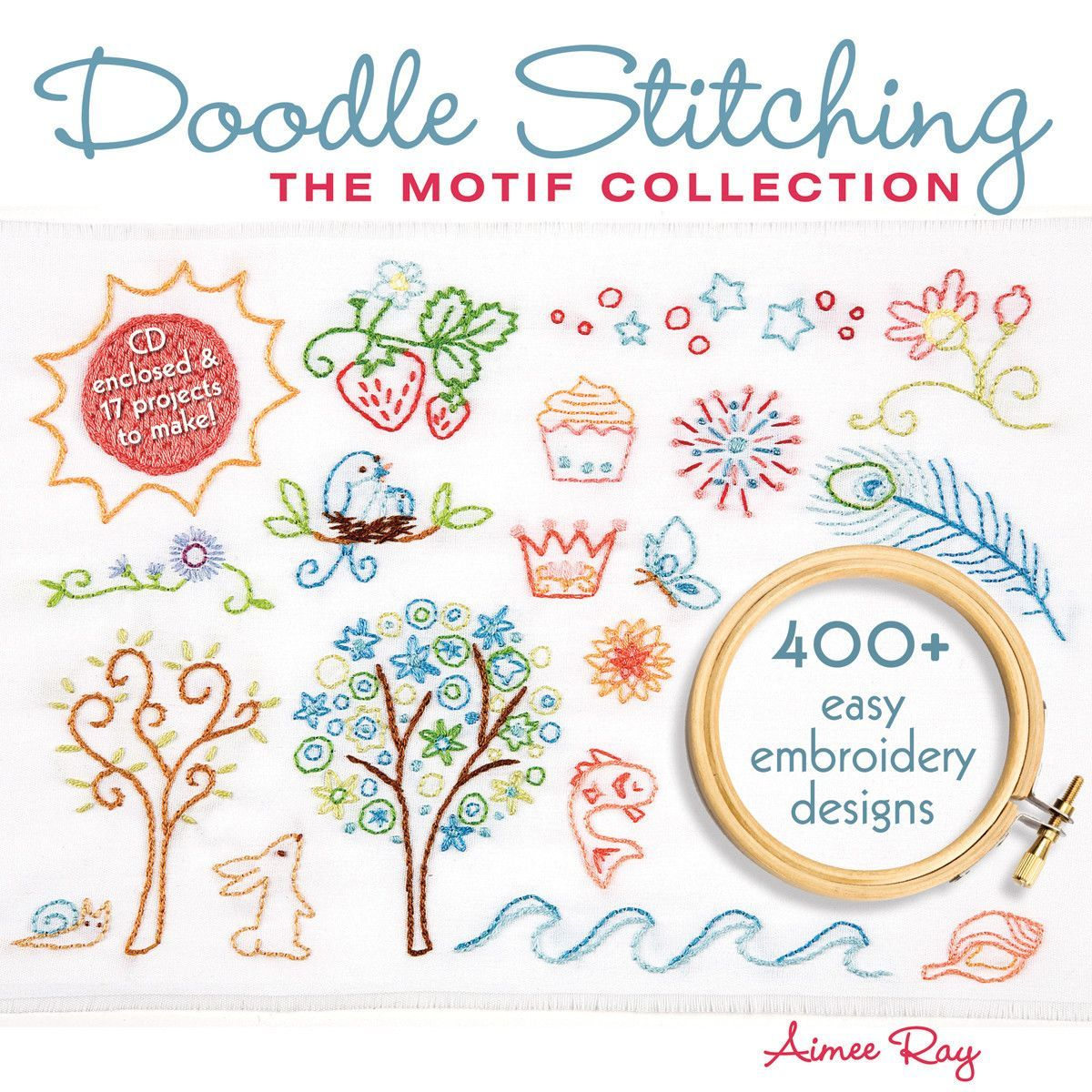 Lark books doodle stitching the motif collection machine