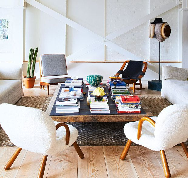 Interiors: An Airy, Eclectic Soho Loft Apartment