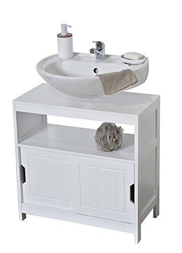 Evideco Non Pedestal Under Sink Storage Vanity Cabinet Ca Bathroom Under Sink Cabinet Small Bathroom Furniture Sink Cabinet