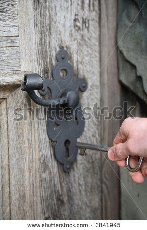 Old Castle Door Lock Key Chaves Antigas Macanetas Fechadura