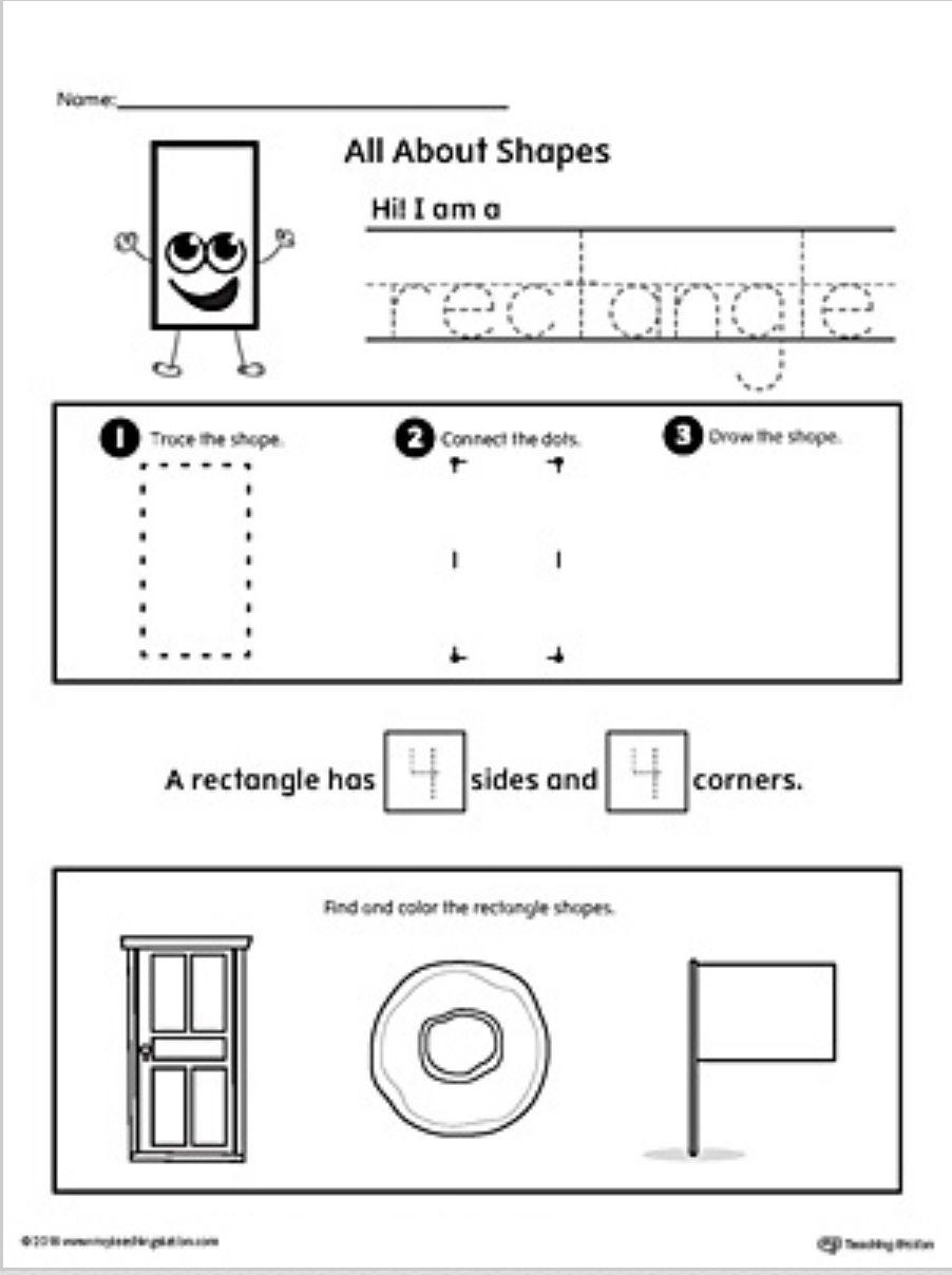 Pin By Karolyn Maturana On Clase Ingles Shapes Worksheets Shapes Worksheet Kindergarten Shapes Kindergarten