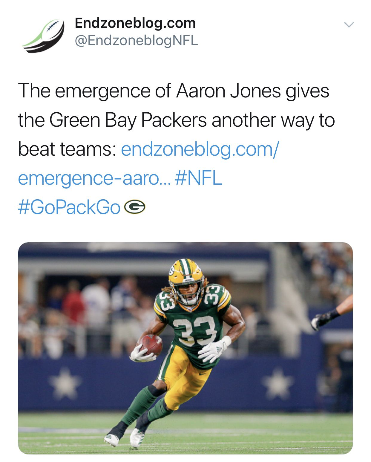 Aaron Jones is the real deal. Football streaming, Live