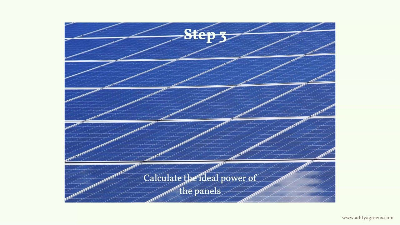 Know The Surface Area Required By Solar Panels In 6 Simple Steps In 2020 Solar Panels Solar Electric Solar