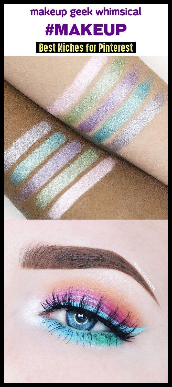Makeup Pinterest Niche Makeup geek eyeshadow, Makeup