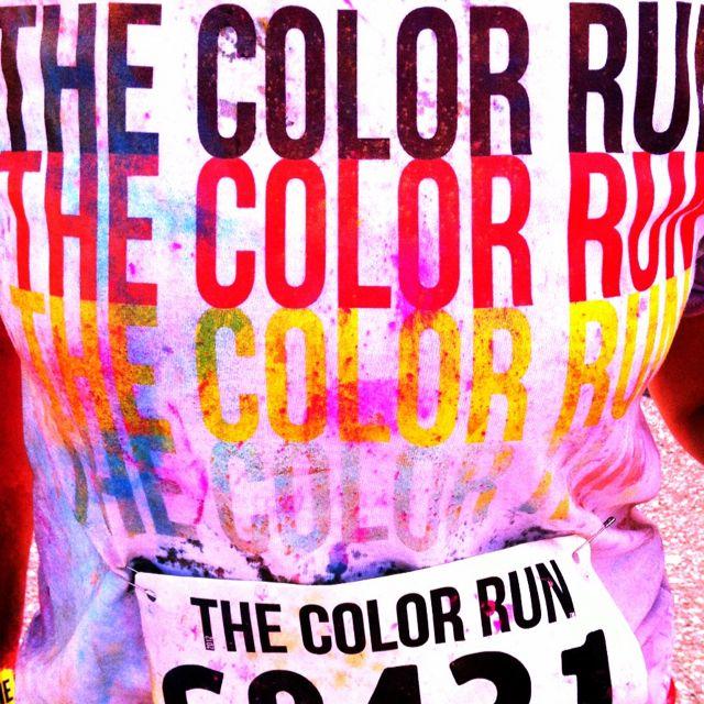 The Color Run 5k! Minneapolis, MN. Sooo much fun. #thecolorrun #5k