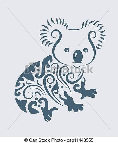 Great Koala Graphic Just Because Koala Tattoo Tattoos Tattoo