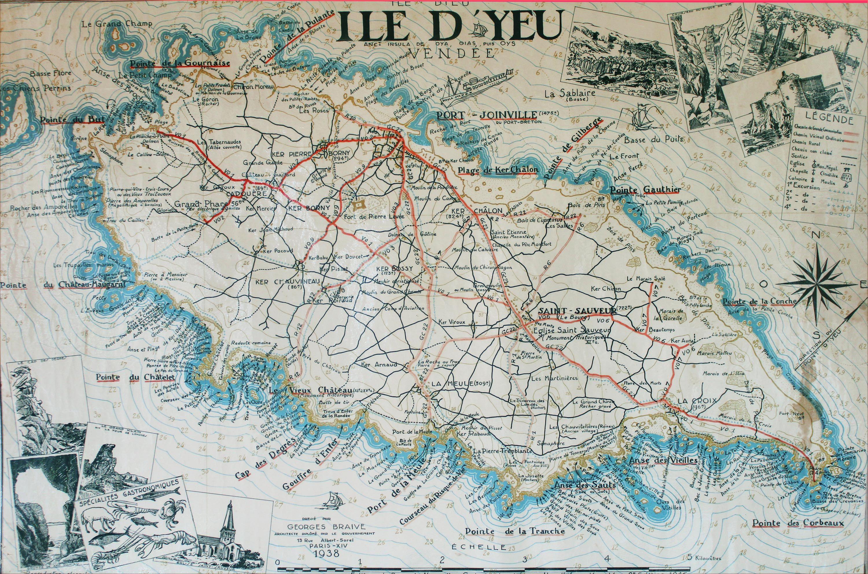 Plages Et Anses Ile D Yeu Plus De 30 Plages A Nom Specifique Ile Yeu Iles Du Ponant Ile