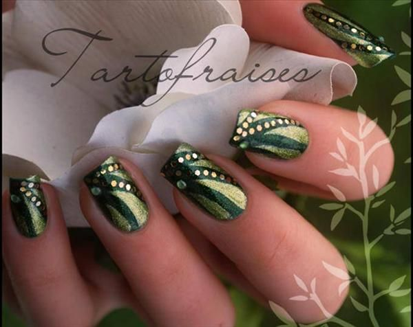 New easy nail designs for short nails   My Style   Pinterest   Short ...