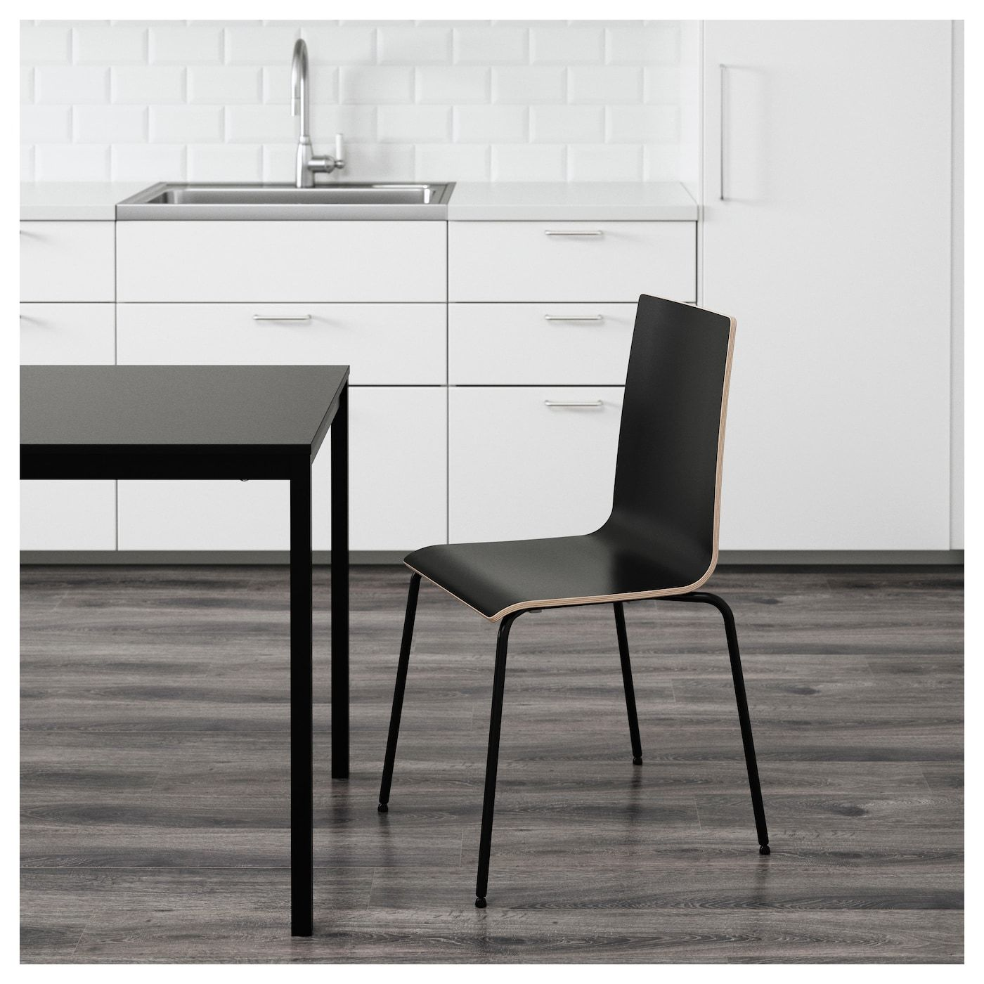 Martin Chair Black Black In 2019 House Inspiration Ikea Chair