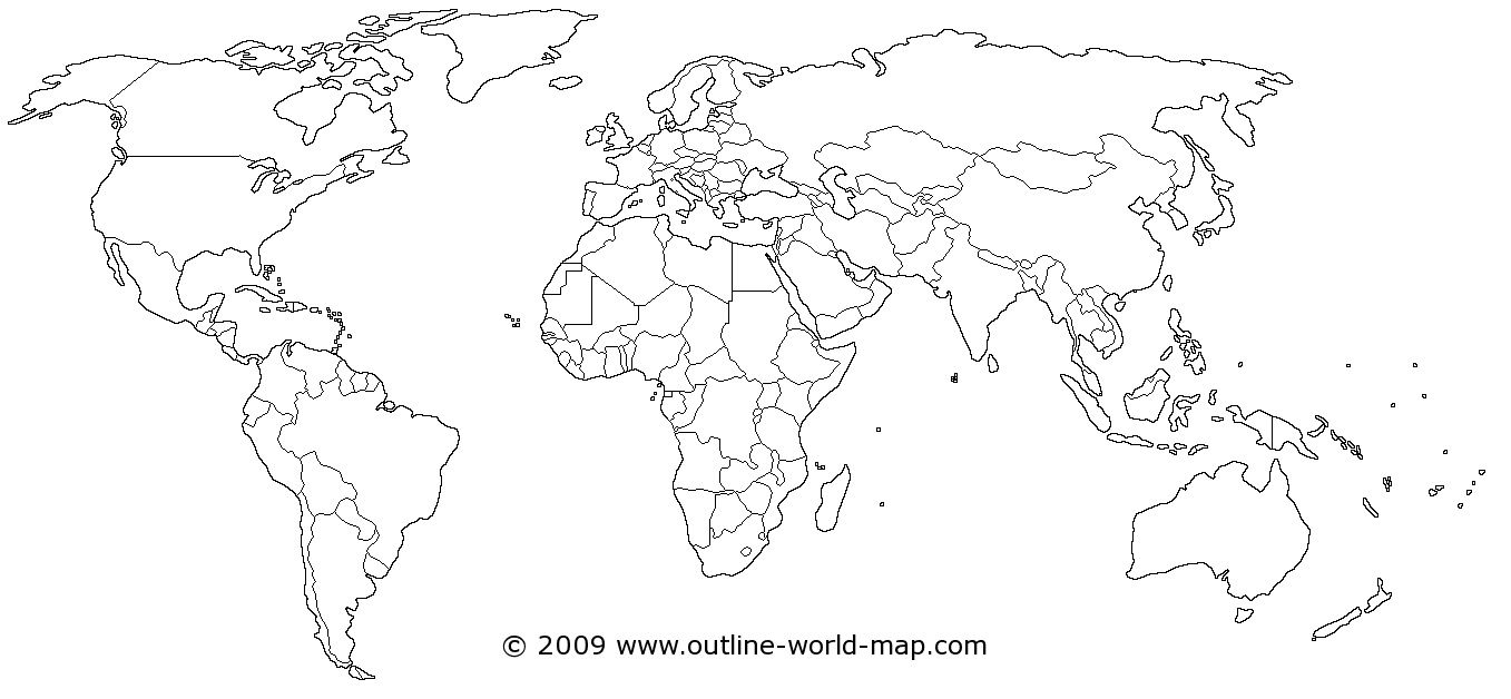 World Map World Map Printable World Map Outline World Map