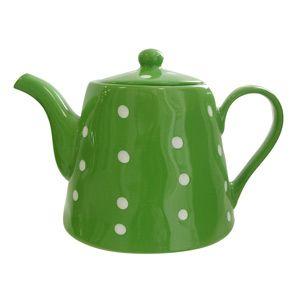 Green Polka Dot Tea Pot!