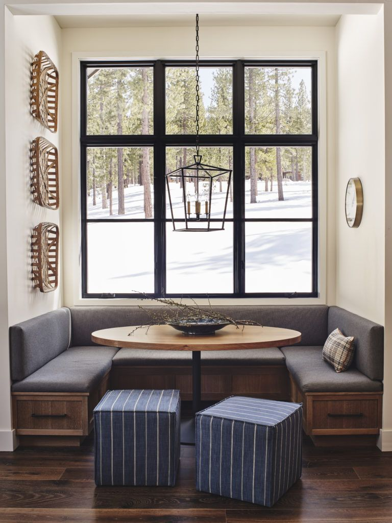 North Lake Tahoe Home Tour: Guest House with Dramatic Neutral Palette