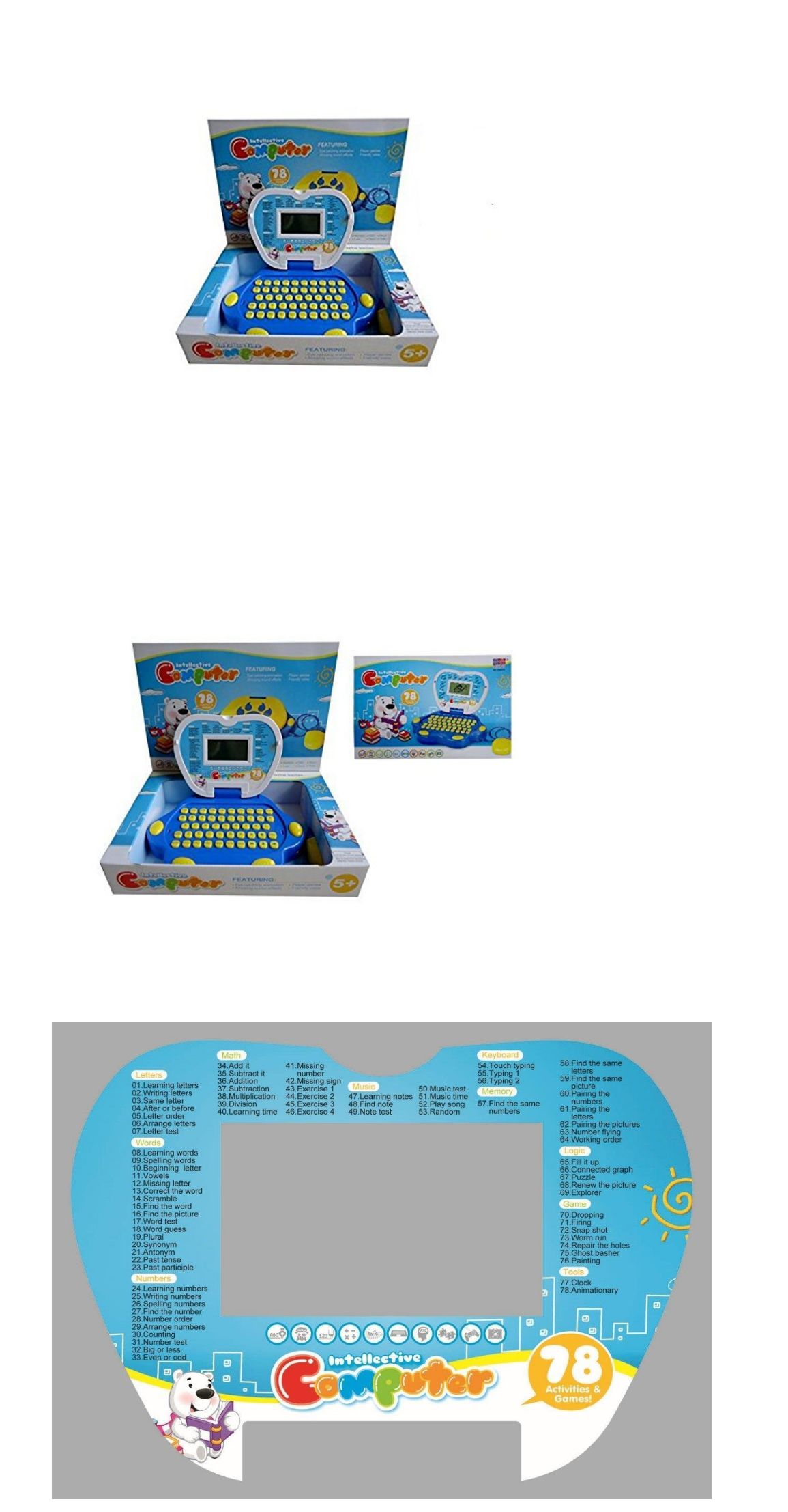 Learning Systems puter For Kids Learning Laptop Toy