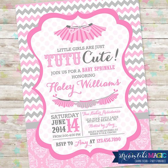 Tutu Cute Baby Shower Baby Sprinkle Tutu Baby Shower Tutu