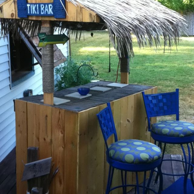 Tiki Bar! Home Made. Pretty Simple Really.