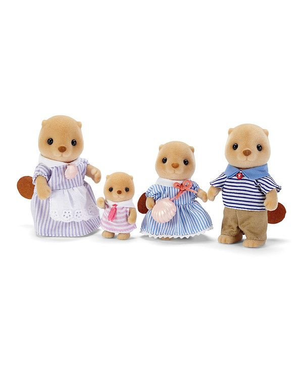 Look at this Sea Otter Family Set on #zulily today!