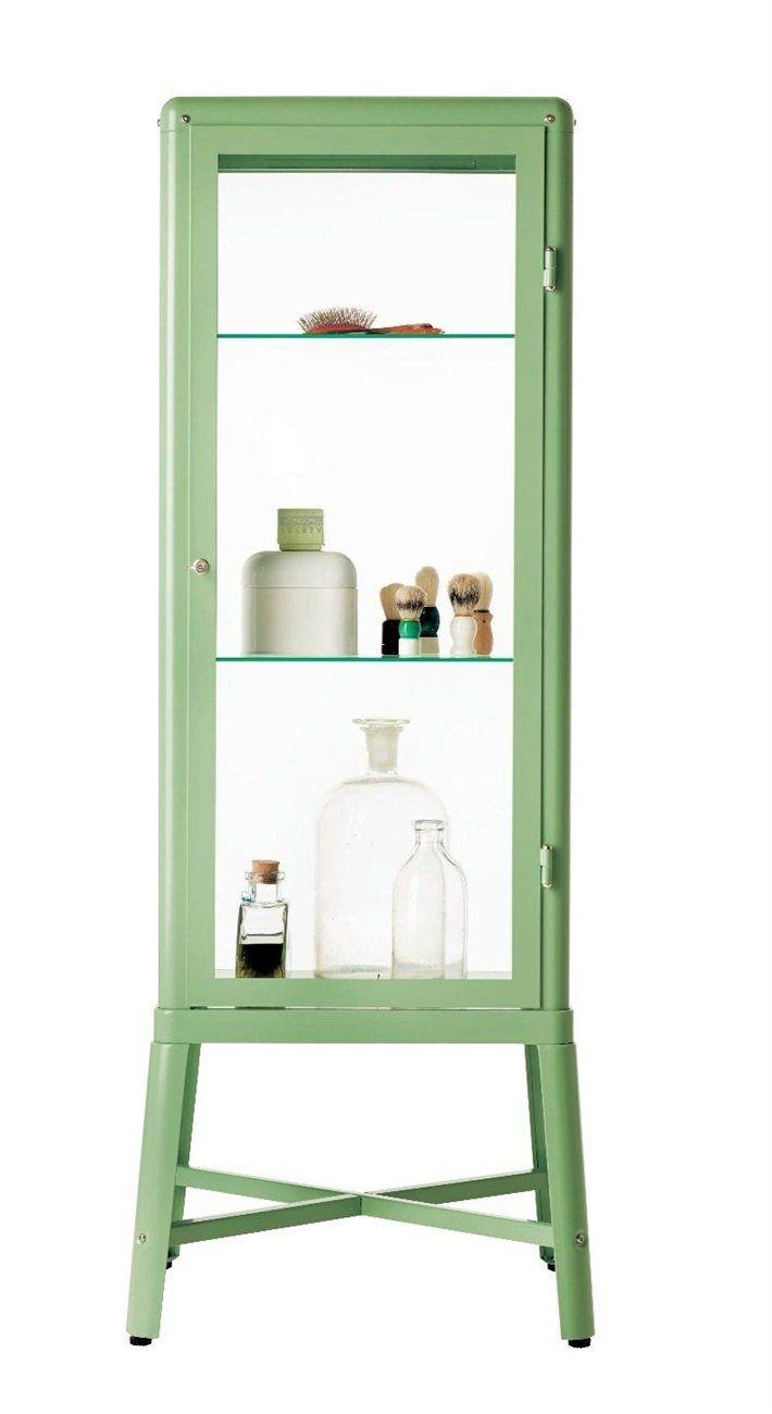FABRIKÖR Glass-door cabinet, beige | Home | Pinterest | Ikea ...