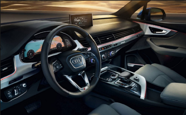 2018 Audi Q7 RS New Interior Style Design   Vehicle Rumors ...