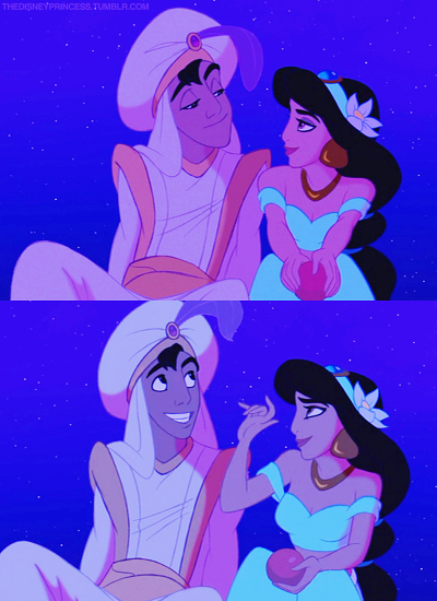 Day 29: Overall Favorite moment: Aladdin and Jasmine's magic carpet ride, when they finally fall in love.