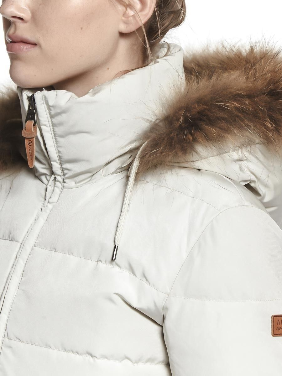 c59b04713 Aigle Oldhaveny Women's Duck Down Insulated Jacket - Ivoire (Cream ...