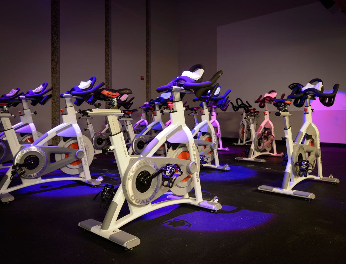 Home sports clubs group fitness gym