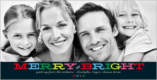 Merrily Bright 4x8 Stationery Card by Float Paperie Shutterfly