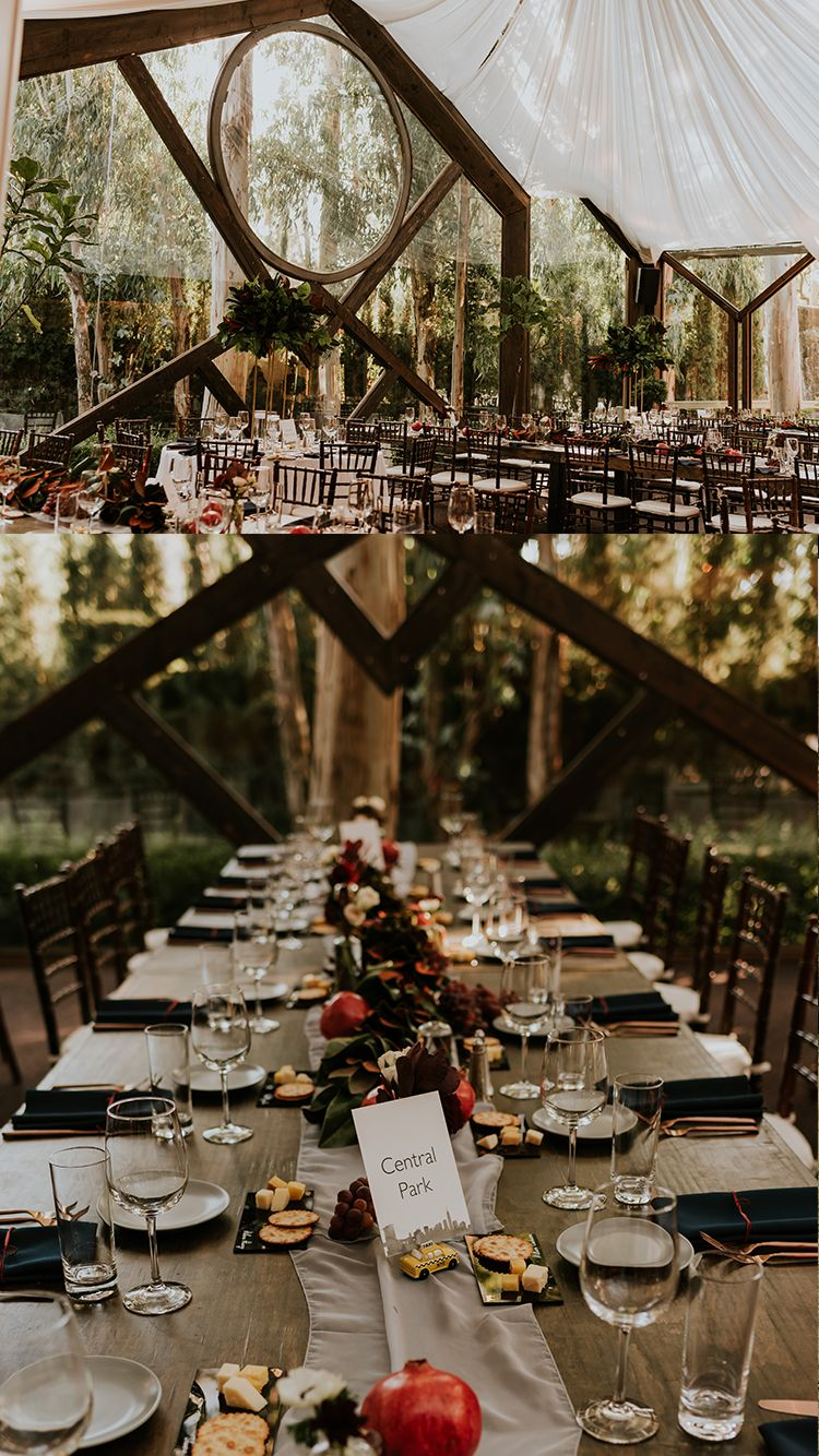 Oak Room Calamigos Ranch Wedding Malibu Wedding