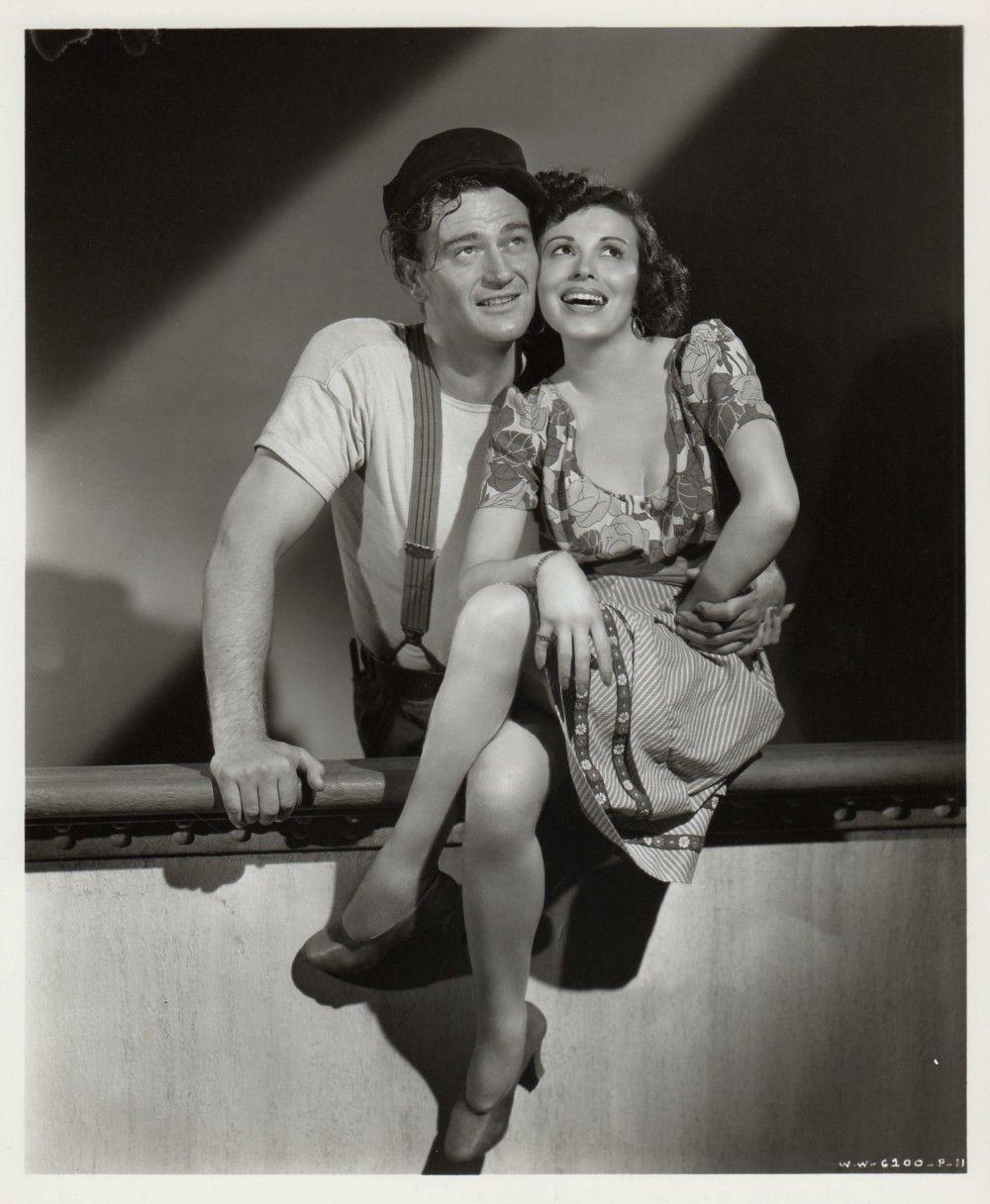 John Wayne andt Carmen Morales John wayne movies, John ford