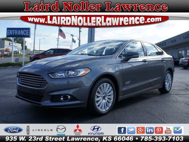 New 2014 Ford Fusion Energi For Sale Topeka Ks Ford Fusion
