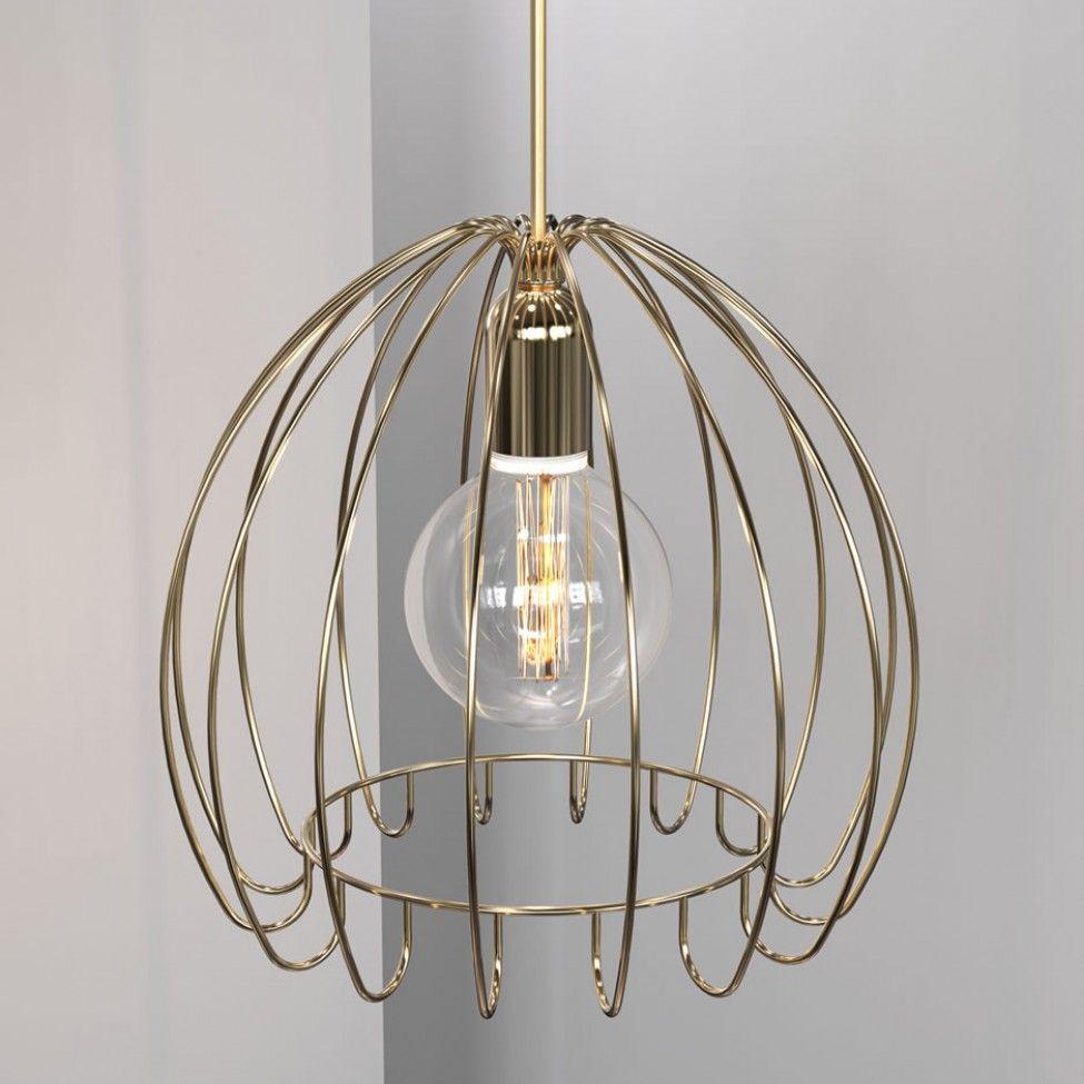 Nordlux Cage Copper Pendant Light 83103035