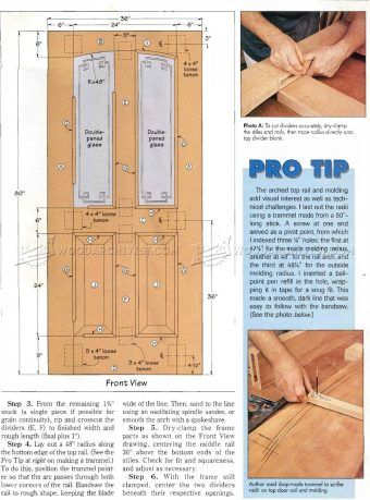 1336 Entry Door Plans Door Construction Techniques Doors