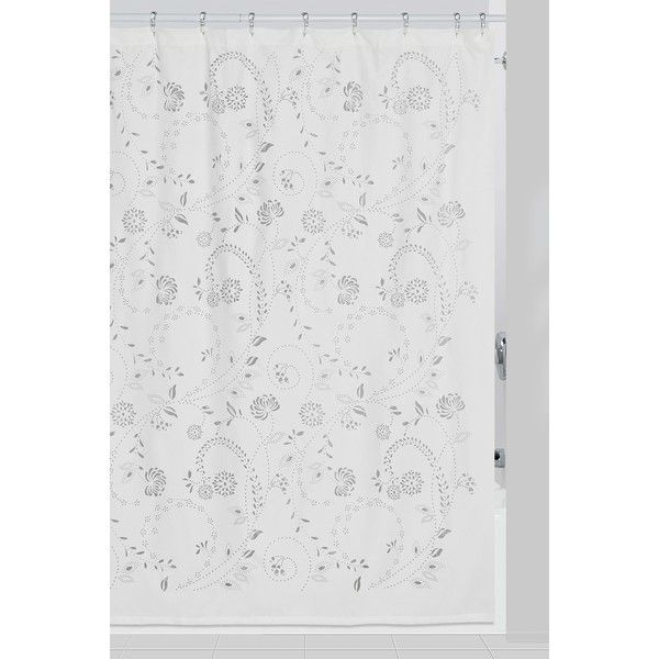 CREATIVE BATH Eyelet Shower Curtain (42 CAD) ❤ liked on Polyvore ...